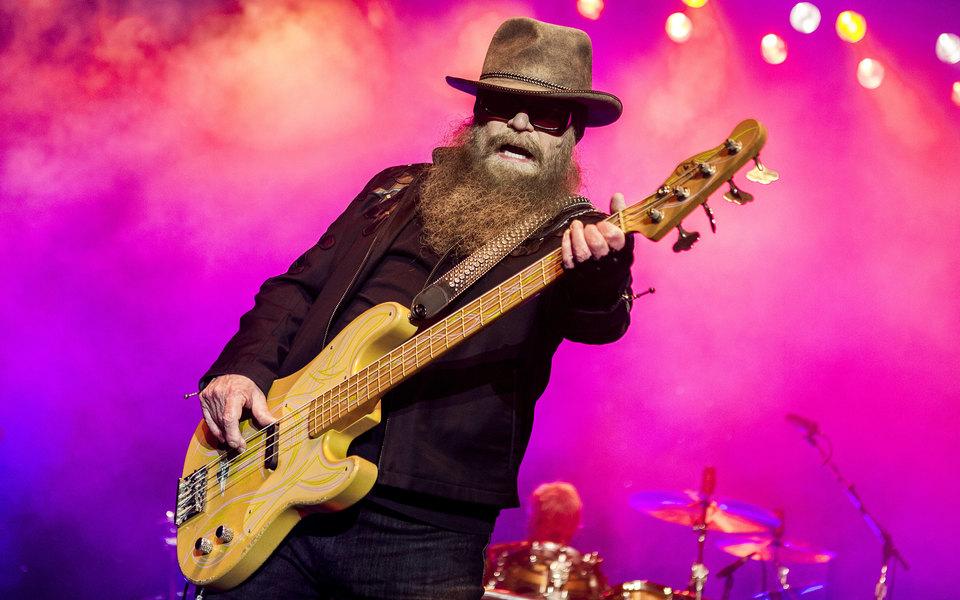 Умер бас-гитарист ZZ Top Дасти Хилл