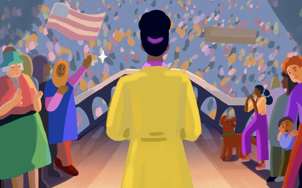 Netflix показал трейлер мультсериала Барака и Мишель Обама We The People