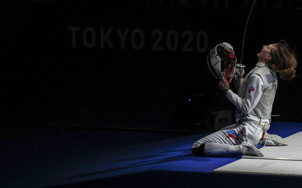 Российские рапиристки завоевали олимпийское золото в командном турнире