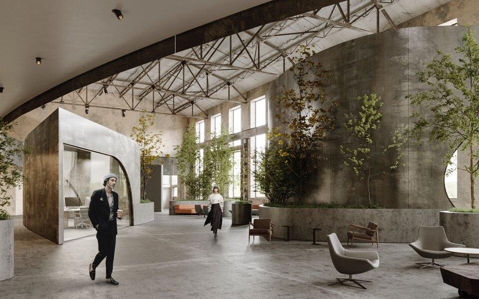 Как устроен «Суперметалл» — проект, переосмысливший офисное пространство после пандемии