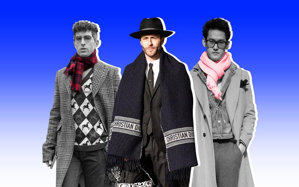 Главная модная инструкция осени: как завязать шарф ис чем его сочетать