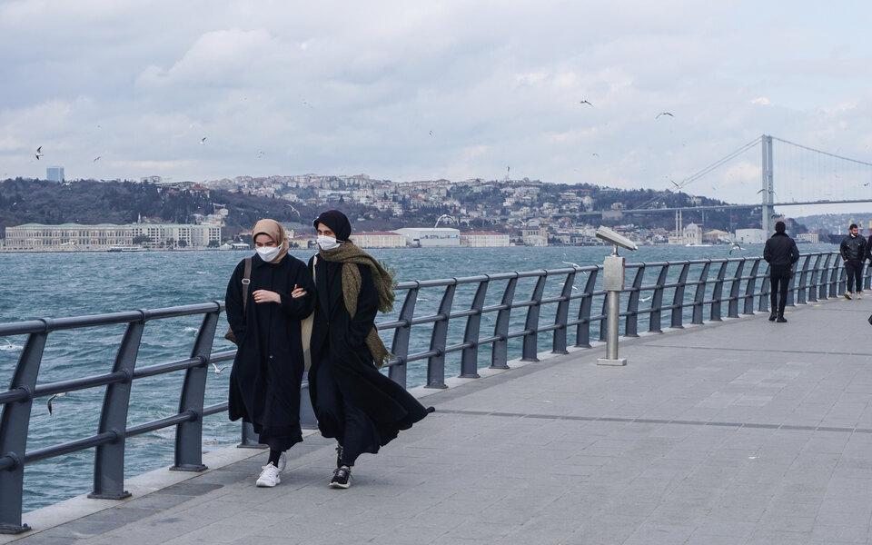 Локдаун в Турции