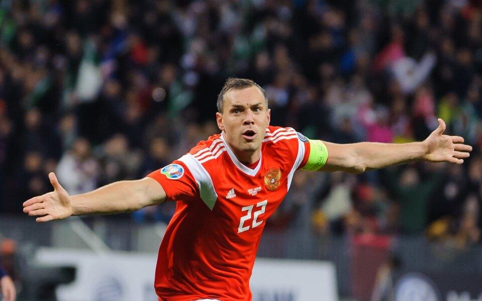 Сборная России по футболу разгромно проиграла Дании и вылетела с Евро-2020