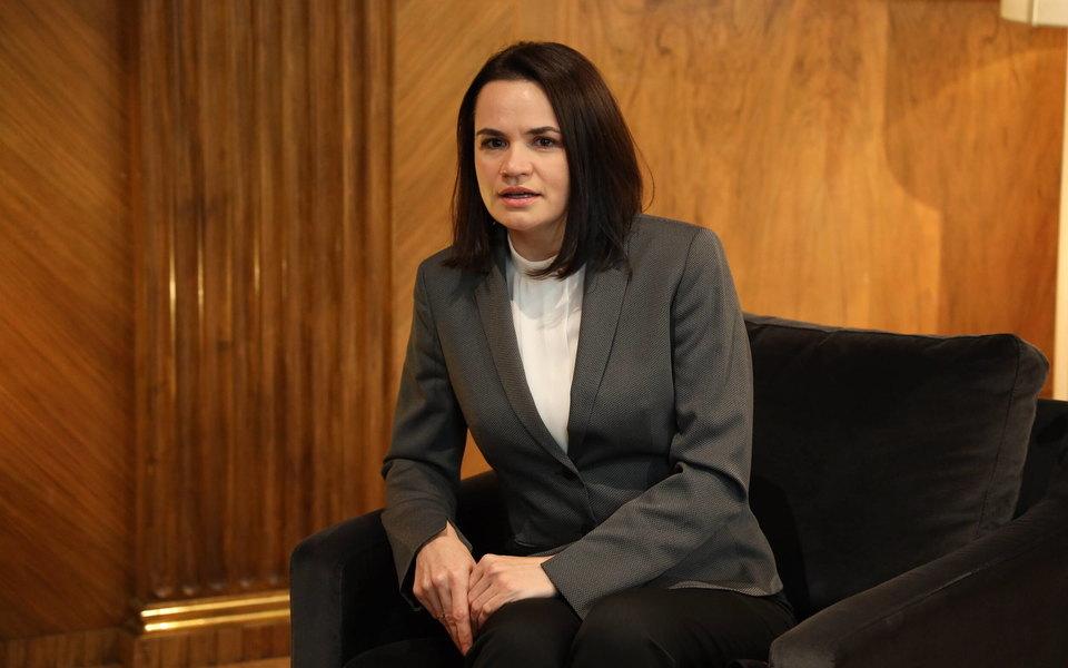 Светлана Тихановская предложила признать белорусский ОМОН террористами
