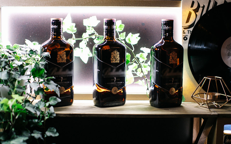 В Москве прошла презентация нового Ballantine's 7 Bourbon Finish