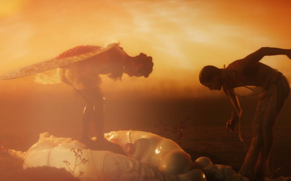 Бьорк рождается заново всвоем новом клипе Arisen my senses