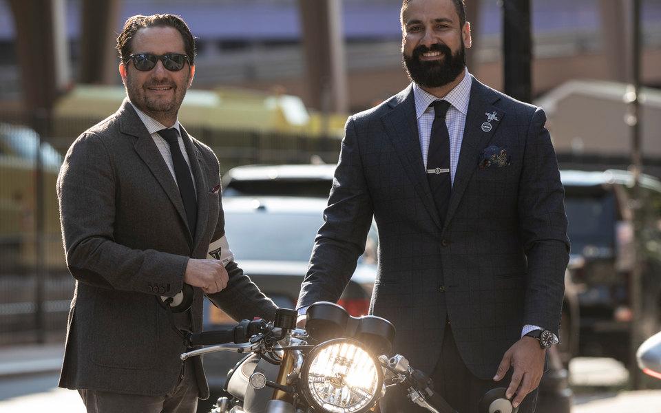 Как прошел нью-йоркский заезд намотоциклах, вкотором участвуют только мужчины вкостюмах