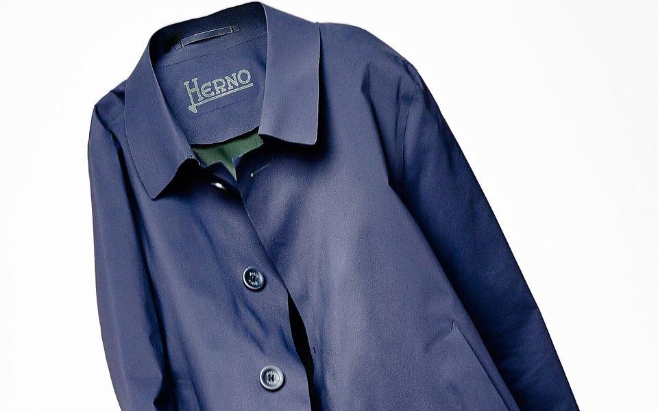 Гардероб: тренч Herno Laser Coat