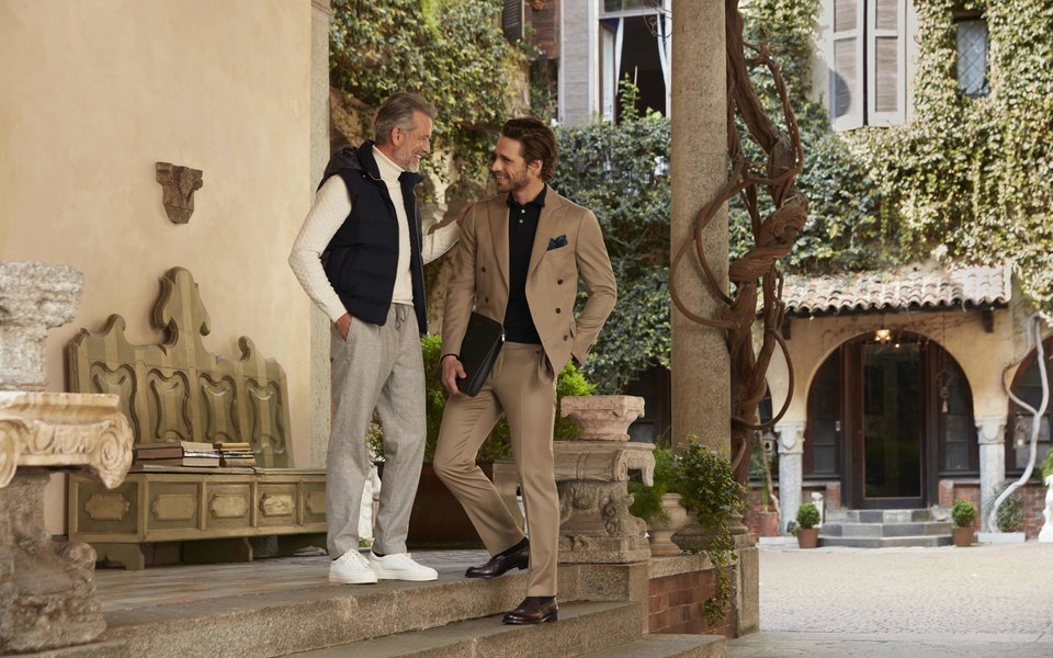 Марка классических итальянских костюмов Boggi Milano представила осенне-зимнюю кампанию