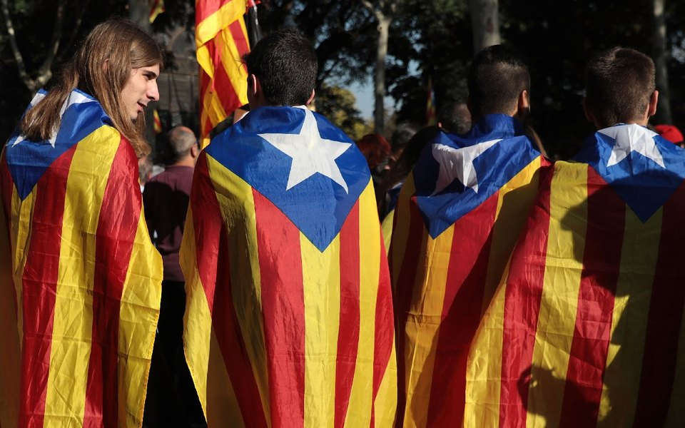 Парламент Каталонии объявил онезависимости отИспании