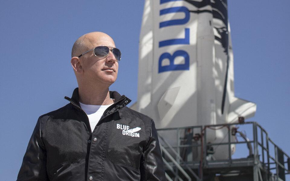 Джефф Безос 20 июля отправится в космос на собственном корабле New Shepard