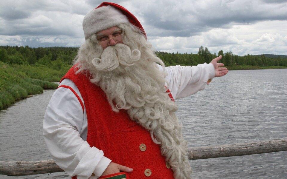 Йоулупукки, он же Санта-Клаус, записал видеообращение дляжителей России