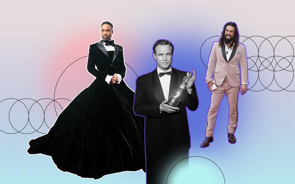 Самые стильные мужчины на«Оскаре»: что они носили икак менялась мужская торжественная мода