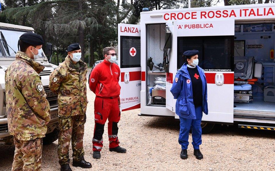 В Италии откоронавируса засутки погибли 386 человек, во Франции — 36. Дляобеих стран это рекордные показатели засутки