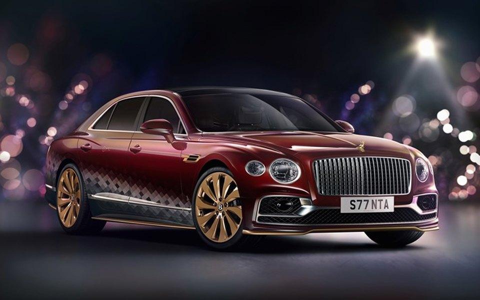 Bentley создал эксклюзивный автомобиль для Санта-Клауса