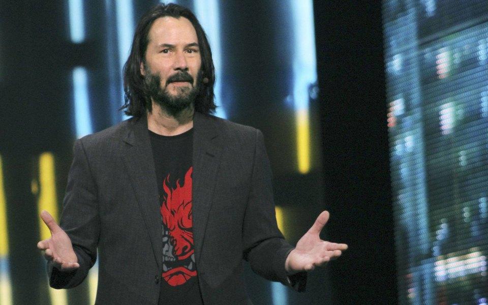 «Живи одним днем»: Киану Ривз снялся вновой рекламе видеоигры Cyberpunk 2077