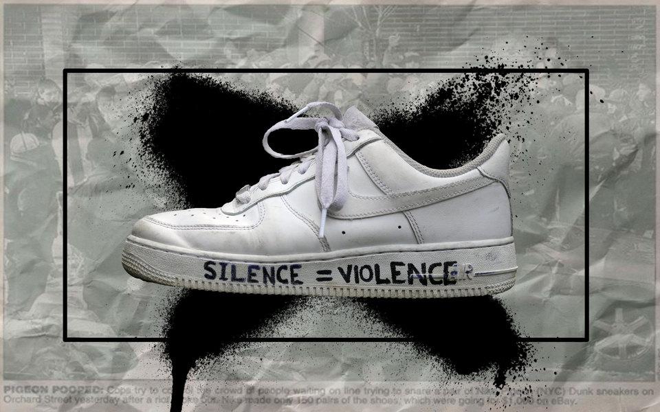 Обувь протеста: как кроссовки стали важной частью акций против расизма вСША (и целью мародеров)