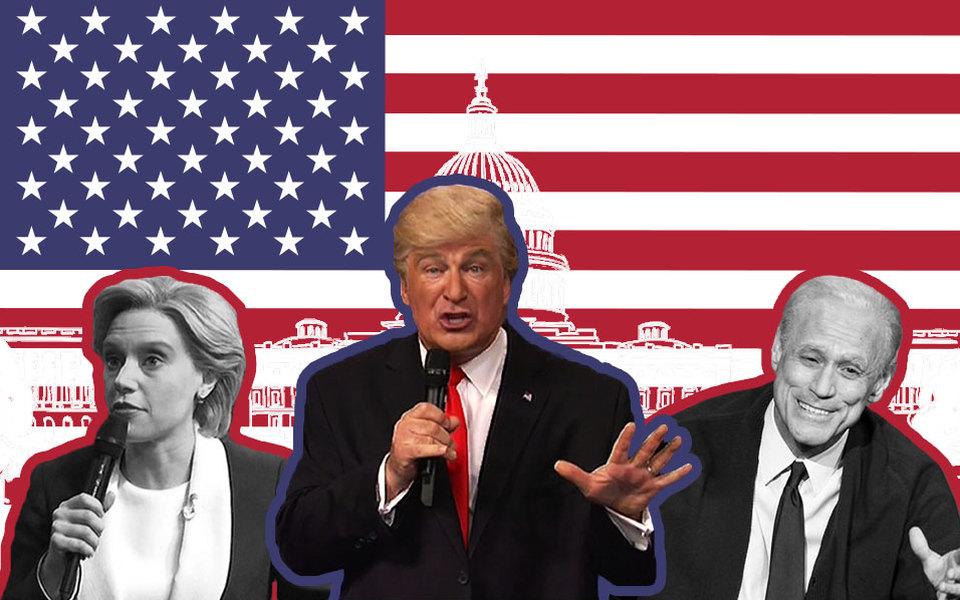Смех сквозь слезы: лучшие политические скетчи Saturday Night Live за20 слишним лет