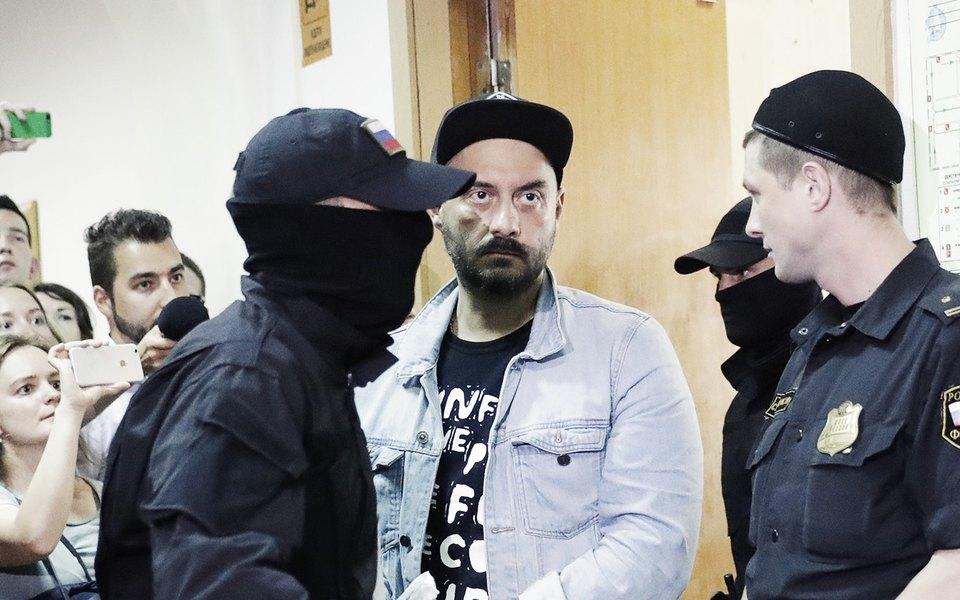 Выступление Кирилла Серебренникова вБасманном суде