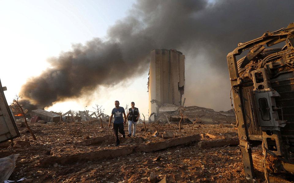 Взрыв в Бейруте: главное | Журнал Esquire.ru