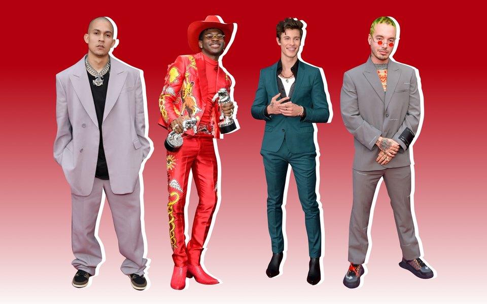 Цвет, принт, детали: 20 самых модных мужчин MTV Video Music Awards 2019