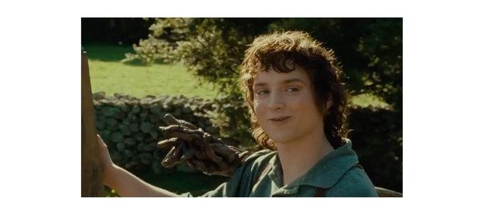 Что говорит Фродо Гэндальфу вэтом меме?