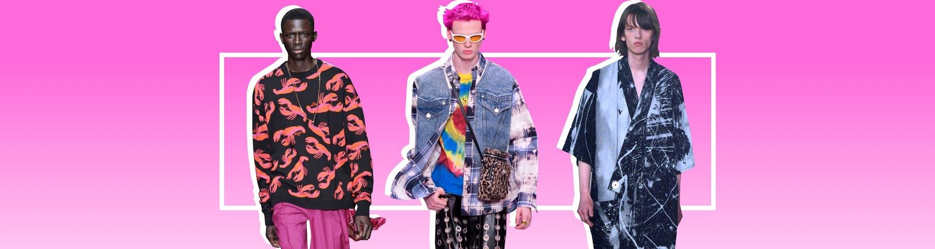 Новая маскулинность, экология иискусство: 7 самых интересных показов нанеделе мужской моды вМилане