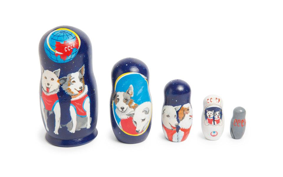 Коллекция Мартина Парра: Собаки-космонавты как советские суперзвезды