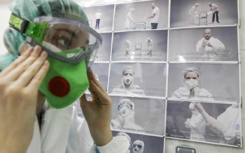 В России засутки выявили 5462 новых случаев заражения коронавирусом