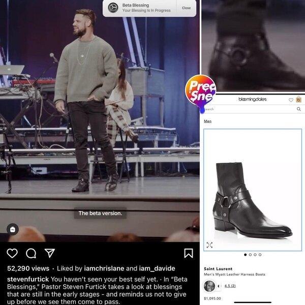 В инстаграме появился аккаунт PreachersNSneakers, который публикует фото священников вдорогих кроссовках ибрендовой одежде