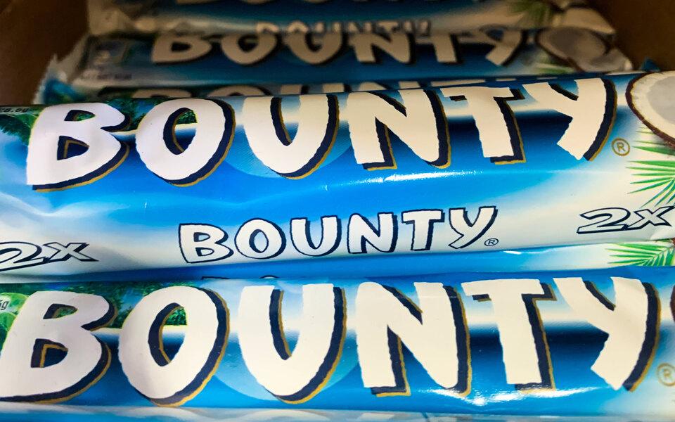 Mars предупредила об ограничении поставок батончиков Bounty