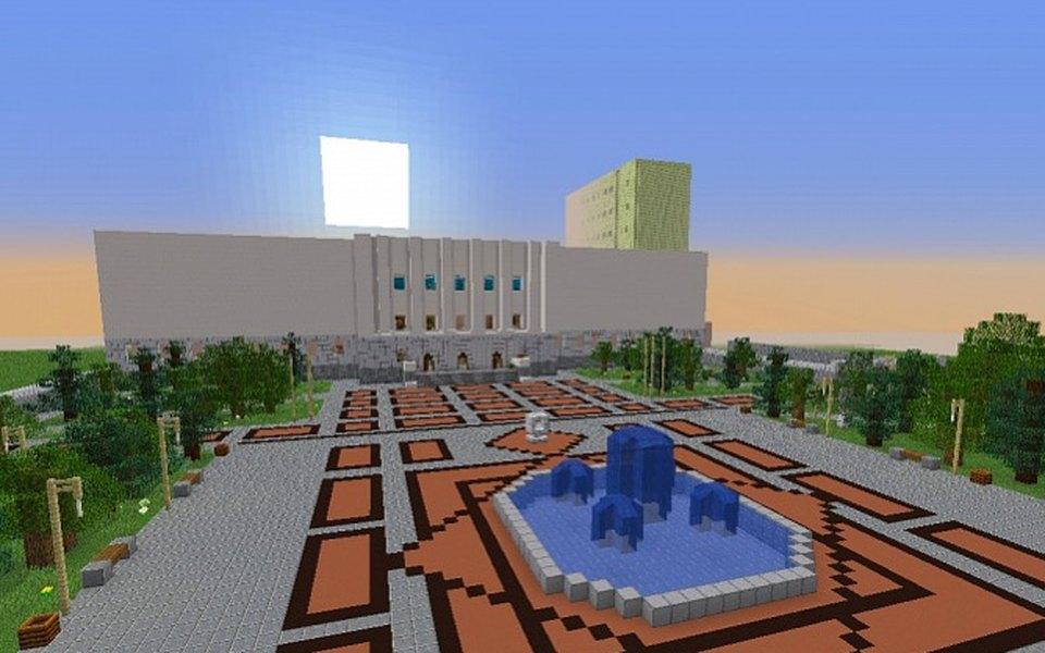 Студенты Донского технического университета провели онлайн-лекцию вигре Minecraft