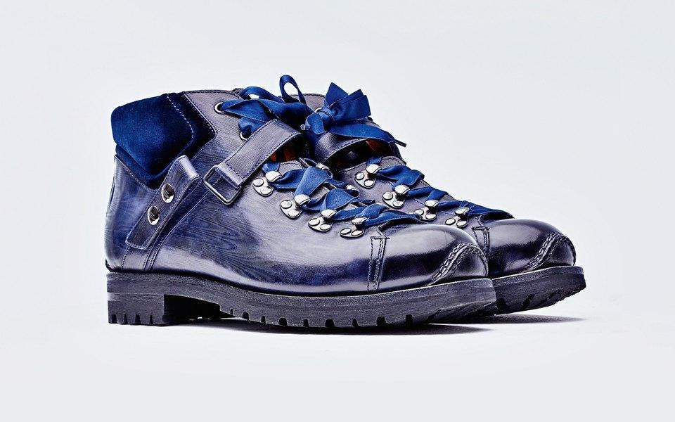 Гардероб: ботинки Santoni Everest