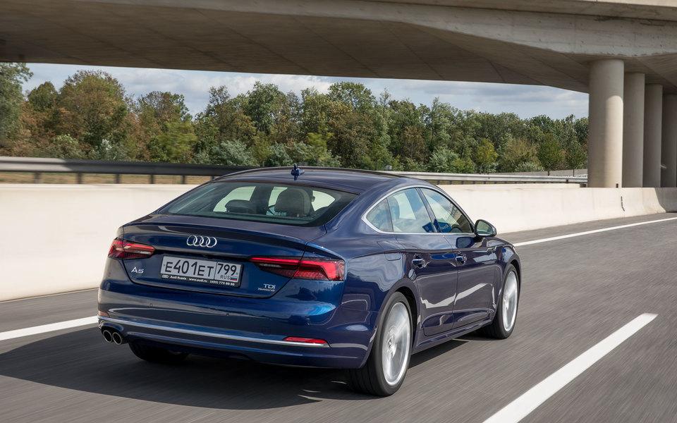 Audi представила новое поколение A5 Sportback