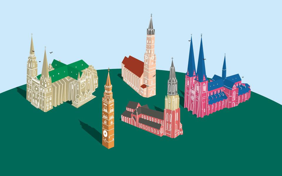 Шпилеологу назаметку: 5 средневековых соборов со шпилями, которые стоит посмотреть